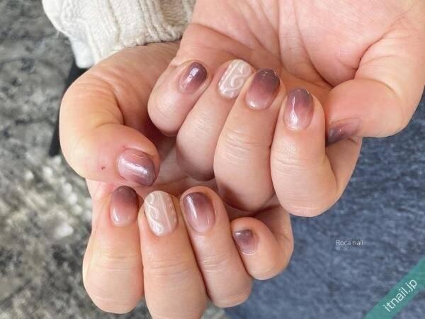 オシャレさんの指先を拝見♡「冬ネイル」しめくくりデザイン8選