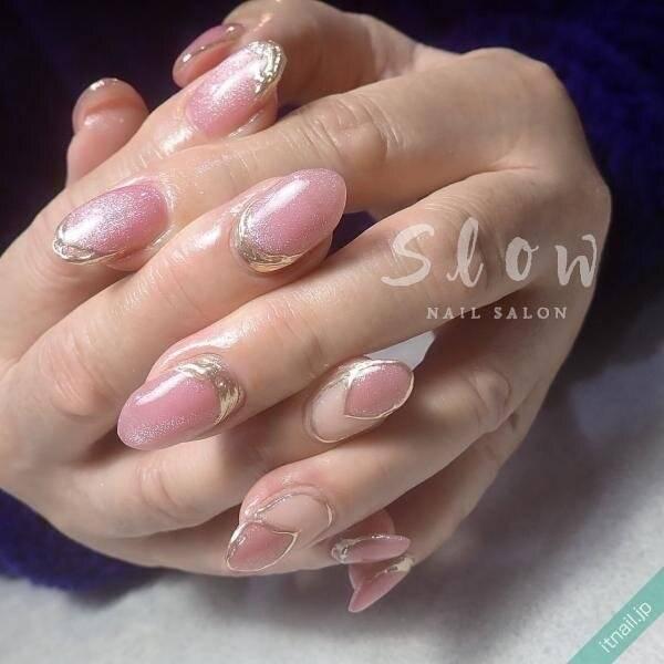 春を満喫♡︎かわいさギュッ!と桜ピンクネイル♡
