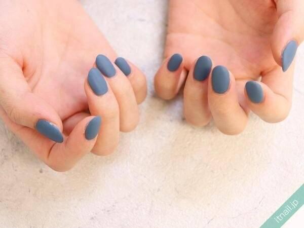 春はブルー・ネイルでさわやかに♡シンプルからデザイン性のあるものまで11デザイン厳選