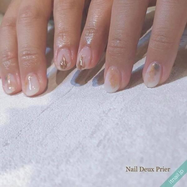 愛されネイルは乳白色で作る♡上品&可愛いネイルデザイン10選