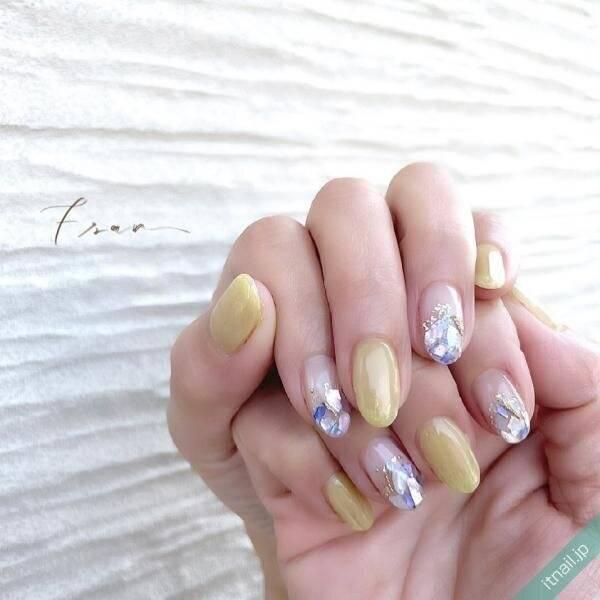 初夏のかおり♡〈レモンイエローネイル〉で爽やかな指先