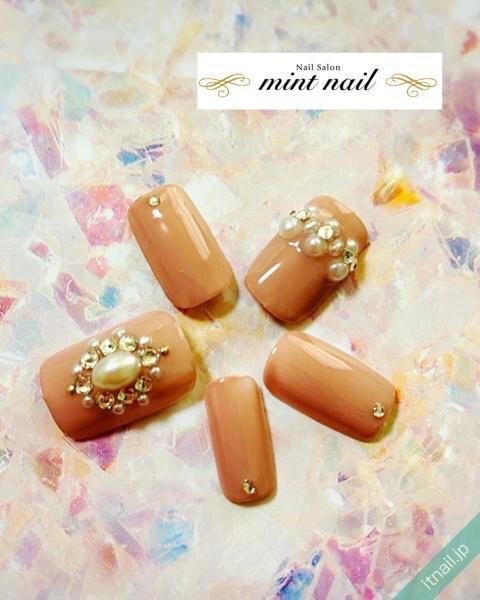 mint nail