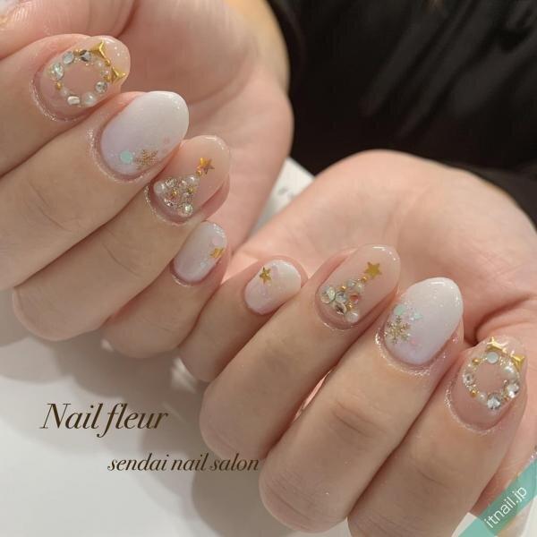 Nail fleur