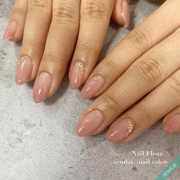Nail fleurが投稿したネイルデザイン [photoid:I0089997] via Itnail Design (634417)