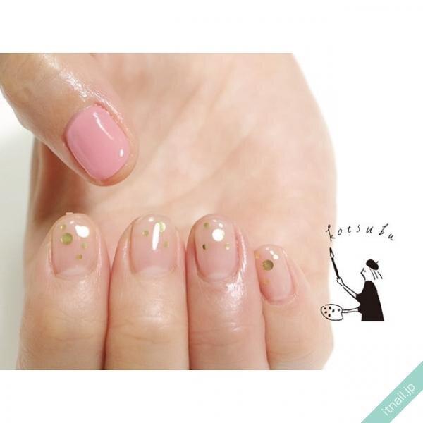 小粒nailが投稿したネイルデザイン [photoid:I0091196] via Itnail Design (633484)