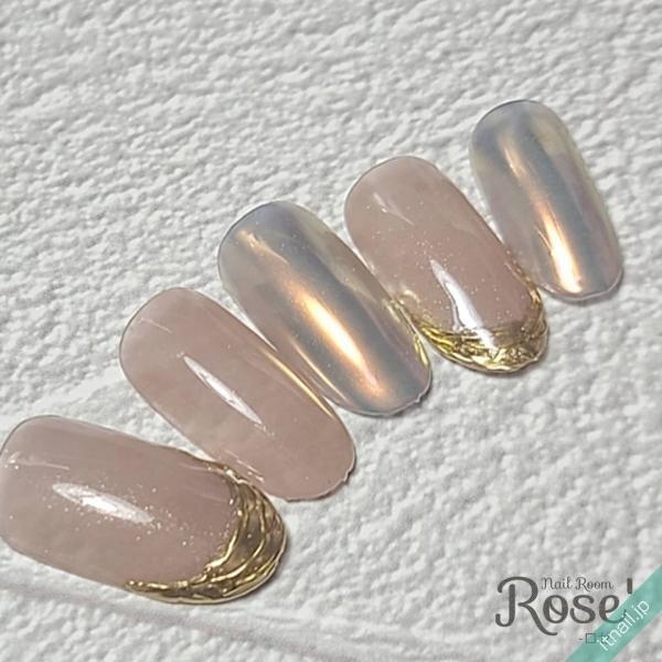 Rose'が投稿したネイルデザイン [photoid:I0092259] via Itnail Design (636183)
