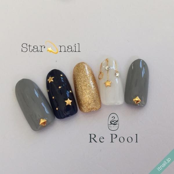 Re Poolが投稿したネイルデザイン [photoid:I0080954] via Itnail Design (637439)