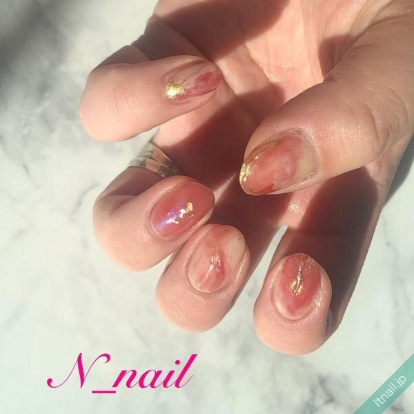N_nailが投稿したネイルデザイン [photoid:I0094768] via Itnail Design (641565)