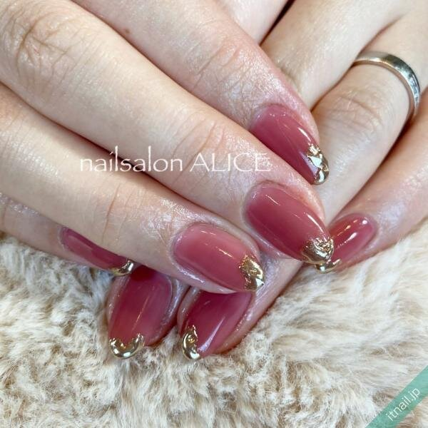 nailsalon ALICEが投稿したネイルデザイン [photoid:I0090441] via Itnail Design (638517)