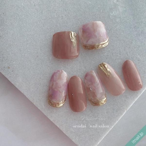 Nail fleurが投稿したネイルデザイン [photoid:I0089977] via Itnail Design (638540)