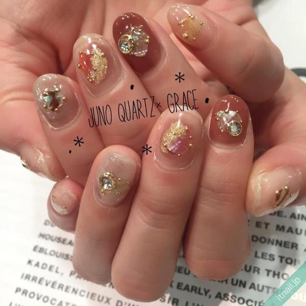 JunoQuartz×graceが投稿したネイルデザイン [photoid:I0031283] via Itnail Design (639193)