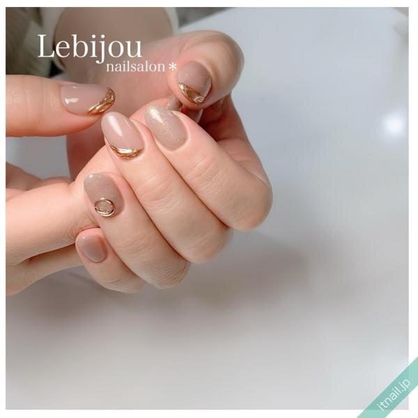 Le bijouが投稿したネイルデザイン [photoid:I0092509] via Itnail Design (639184)