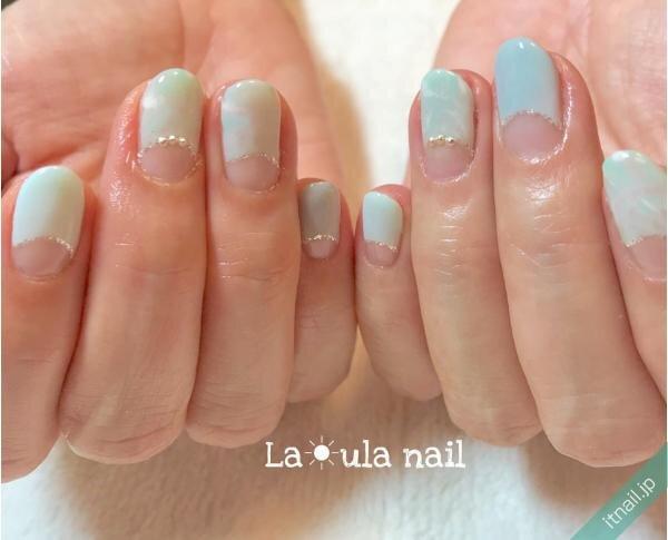 La☀ula nailが投稿したネイルデザイン [photoid:I0081764] via Itnail Design (639868)