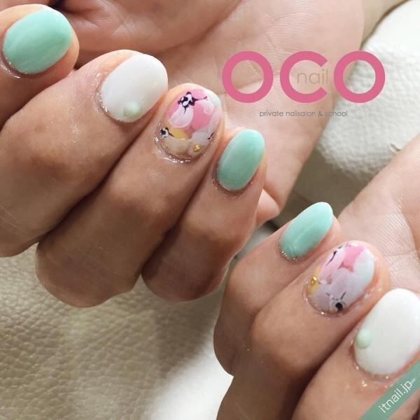 OCO nailが投稿したネイルデザイン [photoid:I0010761] via Itnail Design (639862)