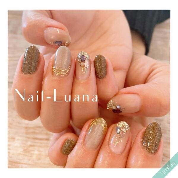 Nail-Luanaが投稿したネイルデザイン [photoid:I0093313] via Itnail Design (640121)
