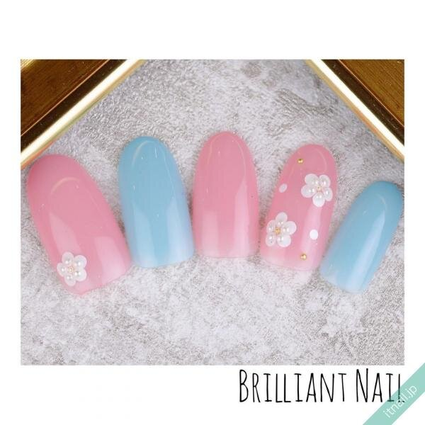 Brilliant Nailが投稿したネイルデザイン [photoid:I0084858] via Itnail Design (640514)