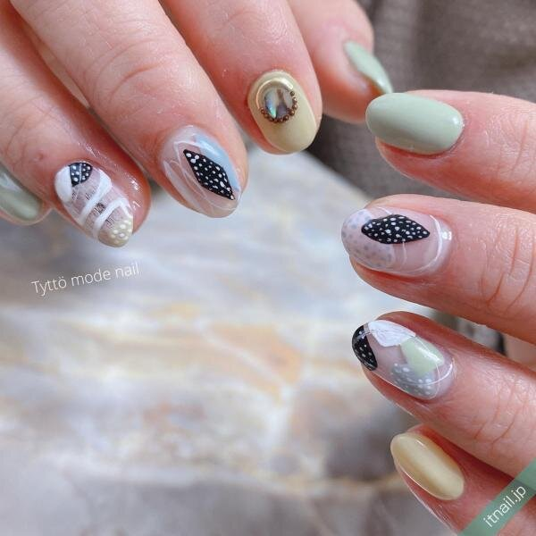 Tyttö mode nailが投稿したネイルデザイン [photoid:I0079833] via Itnail Design (640503)