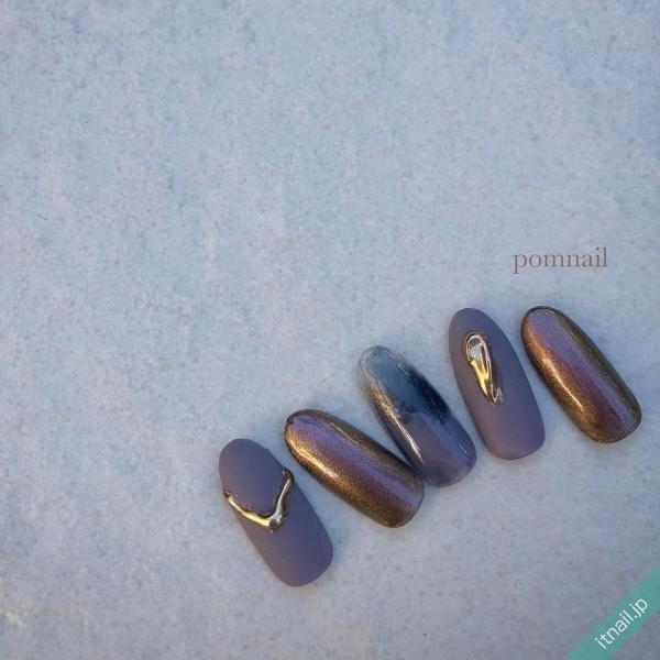 pom nailが投稿したネイルデザイン [photoid:I0091322] via Itnail Design (641352)