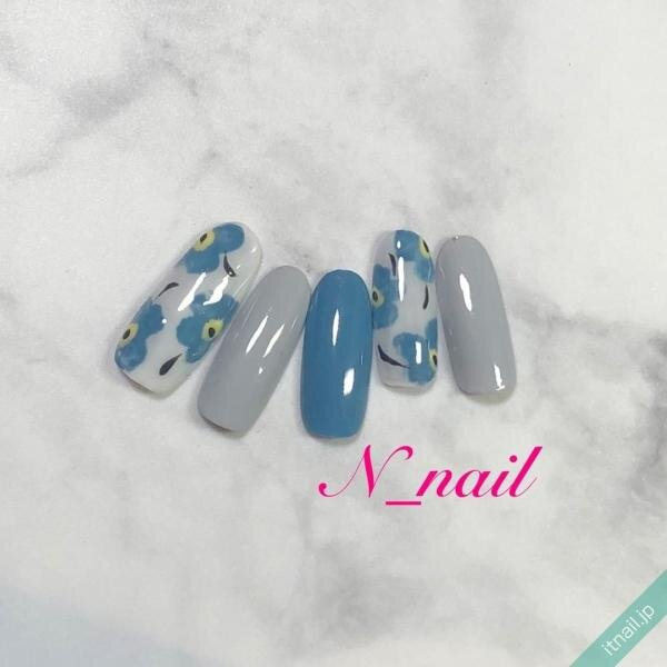 N_nailが投稿したネイルデザイン [photoid:I0094753] via Itnail Design (640966)