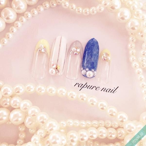 Rapure Nailが投稿したネイルデザイン [photoid:I0049865] via Itnail Design (641057)