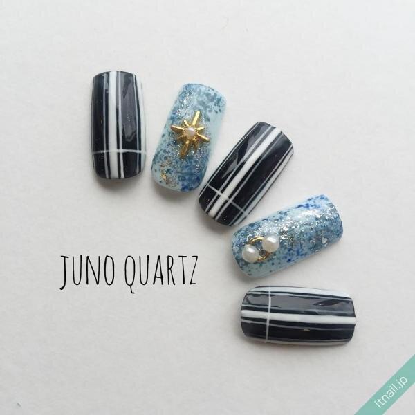 JunoQuartz×graceが投稿したネイルデザイン [photoid:I0032082] via Itnail Design (641063)