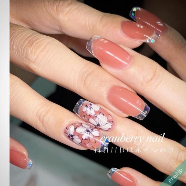 cranberry nailが投稿したネイルデザイン [photoid:I0074219] via Itnail Design (641018)