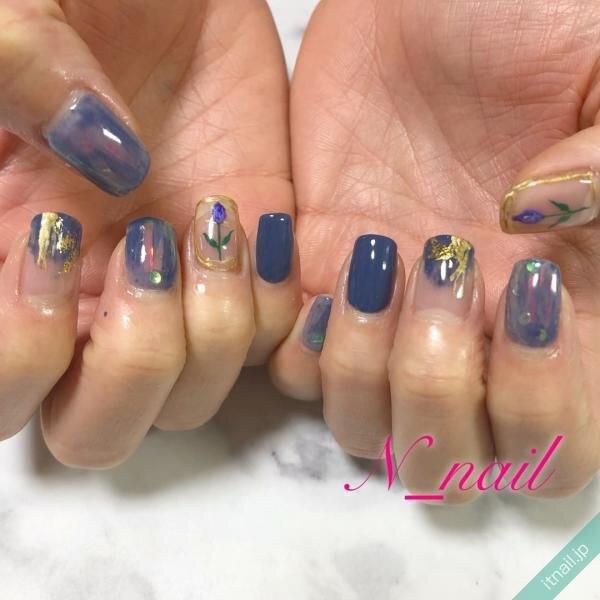 N_nailが投稿したネイルデザイン [photoid:I0094757] via Itnail Design (640562)