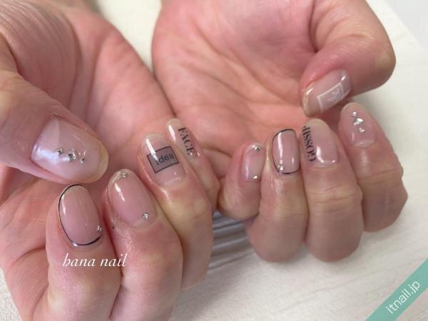 hana nailが投稿したネイルデザイン [photoid:I0091686] via Itnail Design (641071)