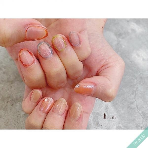 I nailsが投稿したネイルデザイン [photoid:I0087169] via Itnail Design (640995)