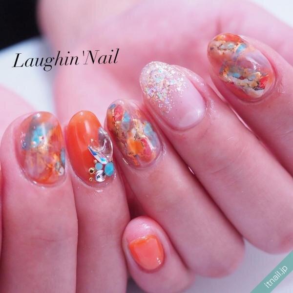 Laughin'Nailが投稿したネイルデザイン [photoid:I0084193] via Itnail Design (641250)