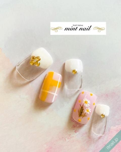 mint nailが投稿したネイルデザイン [photoid:I0089381] via Itnail Design (641343)