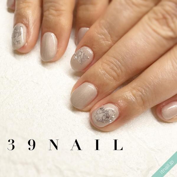 39NAILが投稿したネイルデザイン [photoid:I0095006] via Itnail Design (641837)