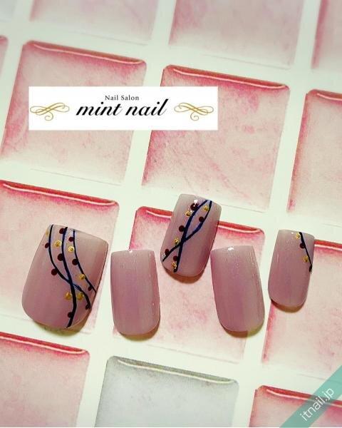 mint nailが投稿したネイルデザイン [photoid:I0094587] via Itnail Design (641996)