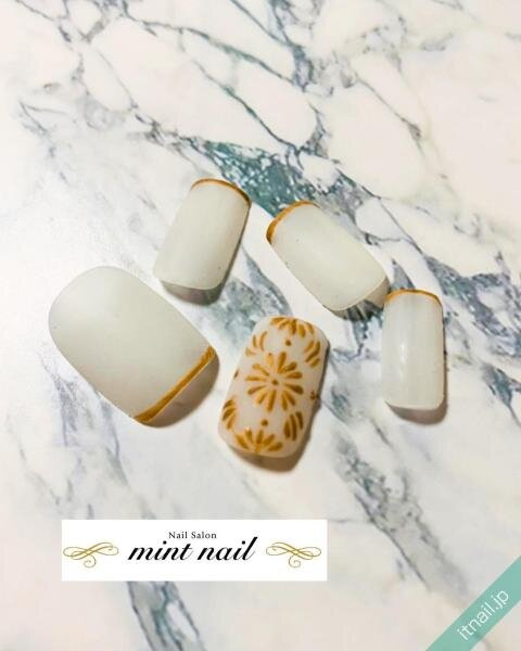 mint nailが投稿したネイルデザイン [photoid:I0094592] via Itnail Design (642211)