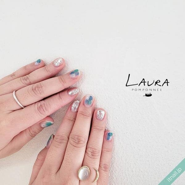 LAURA POMPONNEEが投稿したネイルデザイン [photoid:I0095293] via Itnail Design (642036)