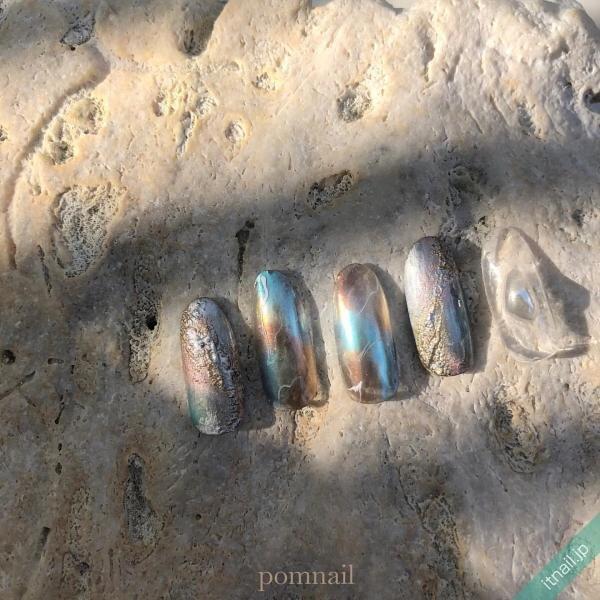 pom nailが投稿したネイルデザイン [photoid:I0095441] via Itnail Design (642394)