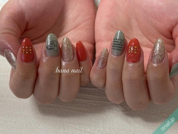 hana nailが投稿したネイルデザイン [photoid:I0091705] via Itnail Design (642198)