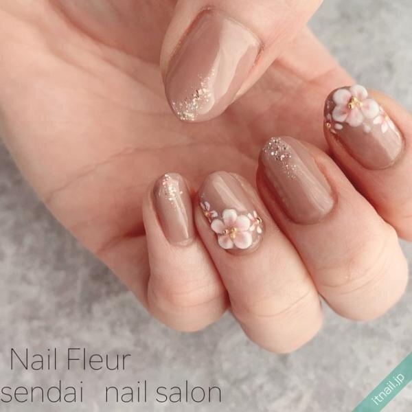 Nail fleurが投稿したネイルデザイン [photoid:I0095148] via Itnail Design (642715)