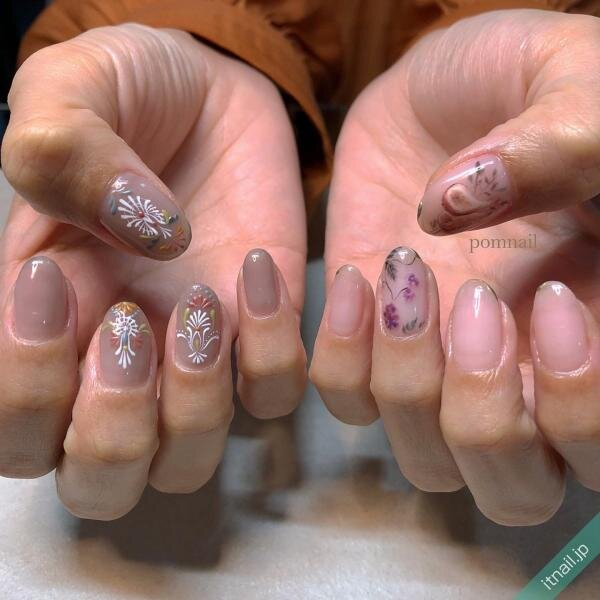 pom nailが投稿したネイルデザイン [photoid:I0095454] via Itnail Design (642598)