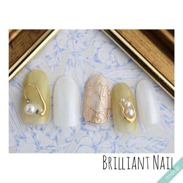 Brilliant Nailが投稿したネイルデザイン [photoid:I0089156] via Itnail Design (639761)