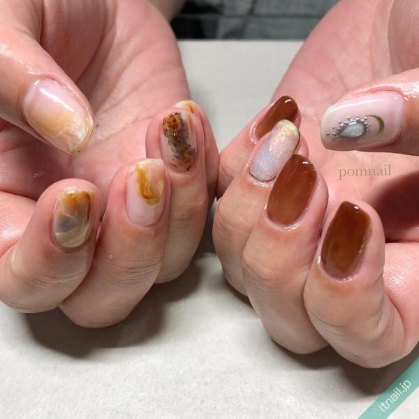 pom nailが投稿したネイルデザイン [photoid:I0095438] via Itnail Design (642912)