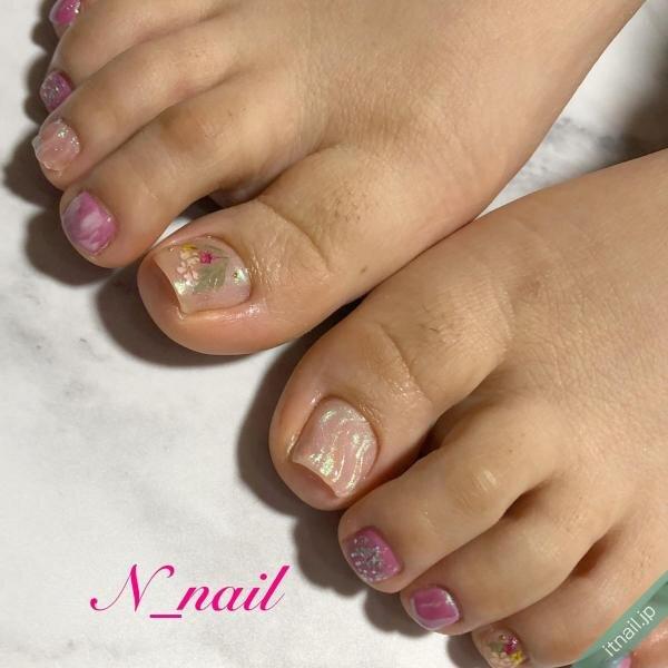 N_nailが投稿したネイルデザイン [photoid:I0094786] via Itnail Design (643029)