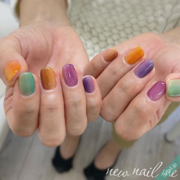 wear_nailが投稿したネイルデザイン [photoid:I0091517] via Itnail Design (643149)