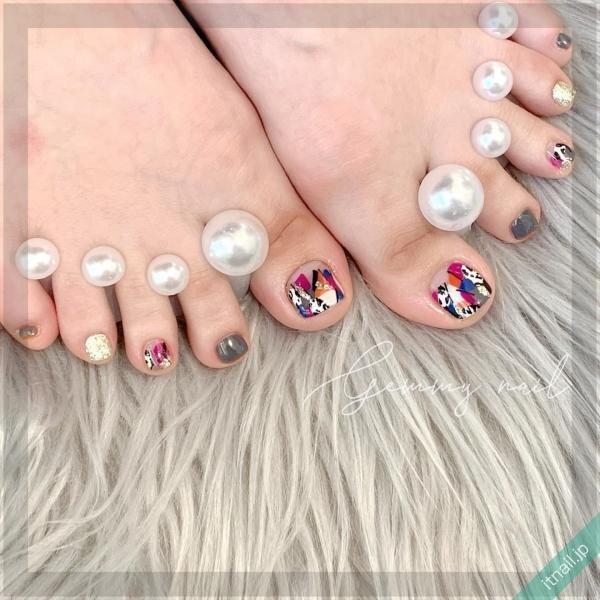 Gemmy nailが投稿したネイルデザイン [photoid:I0085702] via Itnail Design (643002)