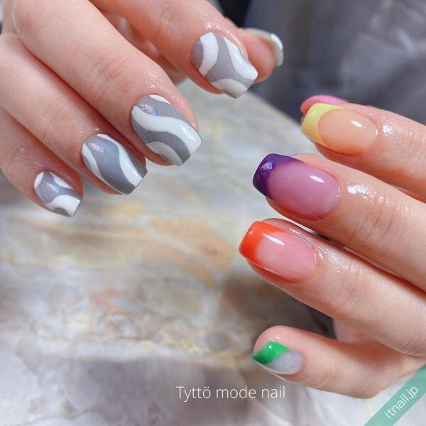 Tyttö mode nailが投稿したネイルデザイン [photoid:I0096303] via Itnail Design (643491)