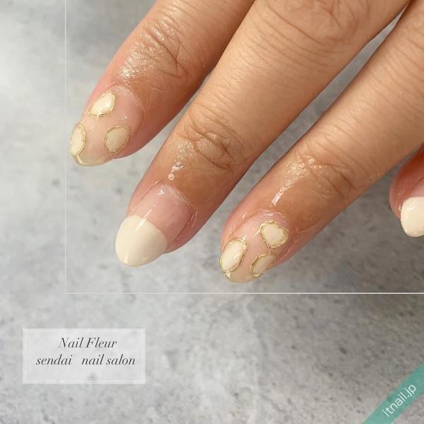 Nail fleurが投稿したネイルデザイン [photoid:I0089967] via Itnail Design (643623)