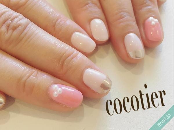 cocotierが投稿したネイルデザイン [photoid:I0039937] via Itnail Design (643620)