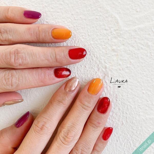 LAURA POMPONNEEが投稿したネイルデザイン [photoid:I0095249] via Itnail Design (642508)