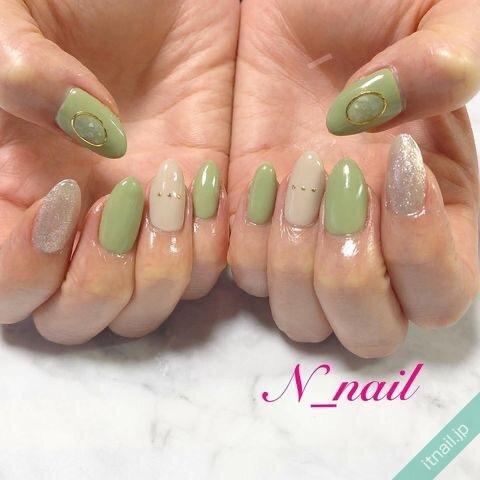 N_nailが投稿したネイルデザイン [photoid:I0094764] via Itnail Design (643934)
