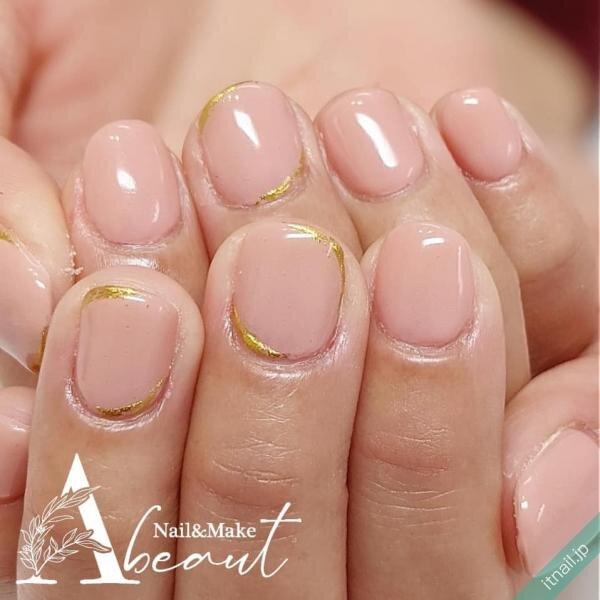 Nail&Make Abeautが投稿したネイルデザイン [photoid:I0096019] via Itnail Design (643599)